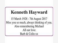 Kenneth Hayward photo