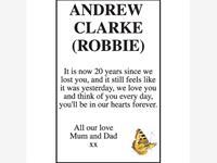 Andrew Clarke (Robbie) photo