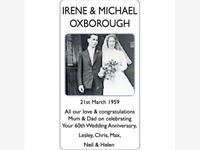 IRENE AND MICHAEL OXBOROUGH photo