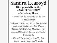 SANDRA LEAROYD photo