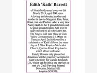 Edith 'Kath' Barrett photo