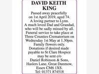 DAVID KEITH KING photo
