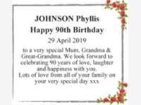 JOHNSON Phyllis photo