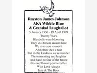 ROYSTON JAMES JOHNSON photo