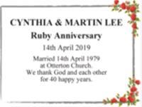 CYNTHIA & MARTIN LEE photo