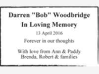 """Darren """"Bob"""" Woodbridge photo"""
