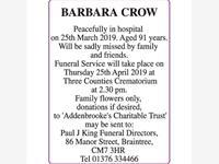 BARBARA CROW photo