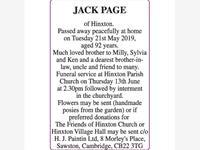 JACK PAGE photo