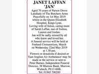 JANET LAFFAN 'JAN' photo