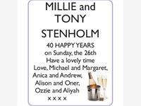 MILLIE and TONY STENHOLM photo