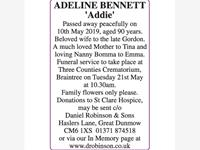 ADELINE BENNETT 'ADDIE' photo