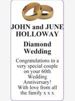 JOHN and JUNE HOLLOWAY photo