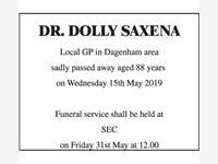 DR SALLY SEXENA photo