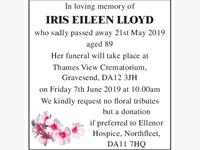 Iris Eileen Lloyd photo