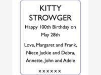 KITTY STROWGER photo
