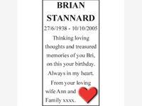 BRIAN STANNARD photo