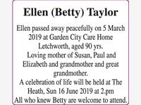 Ellen Taylor (Betty) photo
