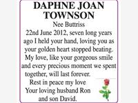 DAPHNE JOAN TOWNSON photo