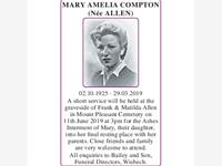 MARY COMPTON photo