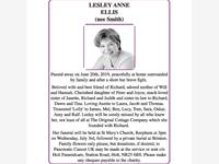 LESLEY ANNE ELLIS (nee Smith) photo