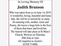 Judith Brunson photo