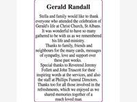 Gerald Randall photo