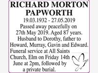 RICHARD MORTON PAPWORTH photo