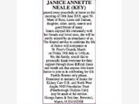 JANICE ANNETTE NEALE photo