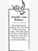 Jennifer Ann Ramsey photo