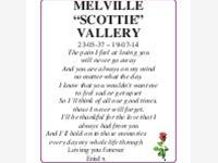 Melville 'Scottie' Vallery photo
