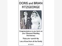 DORIS AND BRIAN FITZGEORGE photo