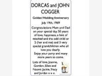 DORCAS and JOHN COGGER photo