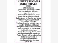 ALBERT THOMAS JOHN WHALE (JOHN) photo