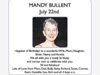 MANDY BULLENT photo