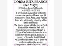 Lorna Rita Prance (nee Mayo) photo