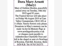 Dora Mary Arnott (Mary) photo