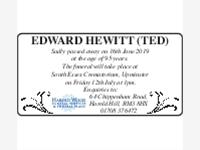 Edward Hewitt (Ted) photo