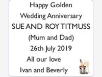Sue and Roy Titmuss photo