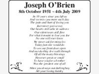 Joseph O'Brien photo
