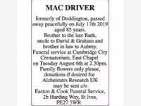 MAC DRIVER photo