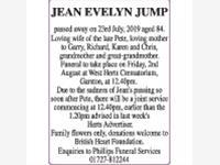 Jean Evelyn Jump photo