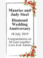 Maurice and Judy Steel photo