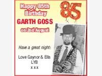 Garth Goss photo