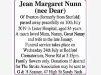 Jean Margaret Nunn (nee Dear) photo