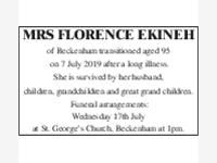 Mrs Florence Ekinah photo