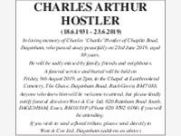 Charles Arthur Hostler photo