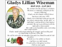 Gladys Lillian Wiseman photo