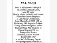 VAL NASH photo