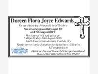 Doreen Flora Joyce Edwards photo