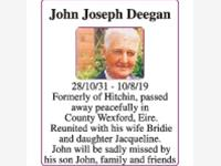 John Joseph Deegan photo